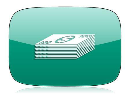 cash money: money green icon cash symbol