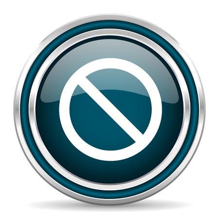 access denied: access denied blue glossy web icon
