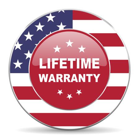 lifetime: lifetime warranty icon