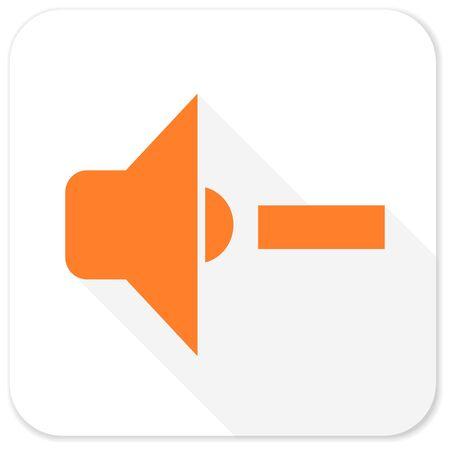 volume: speaker volume flat icon Stock Photo