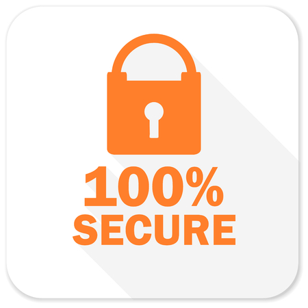 secure: secure flat icon