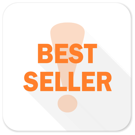 the seller: best seller flat icon