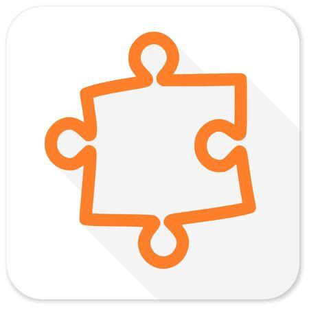 puzzle flat icon 版權商用圖片