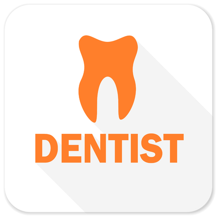 dent: dentist flat icon