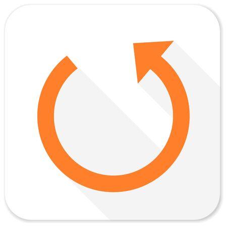 rotate: rotate flat icon