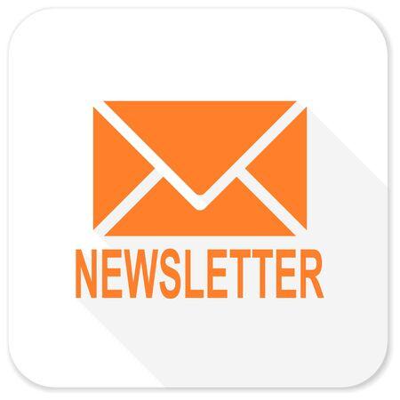 news letter: newsletter flat icon