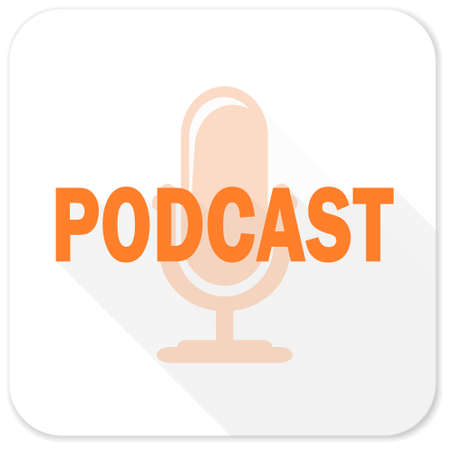 podcast: podcast flat icon