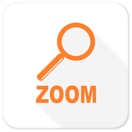 magnification: zoom flat icon