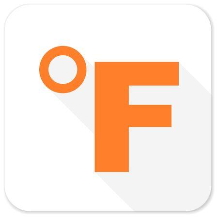 fahrenheit: fahrenheit flat icon