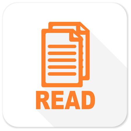 docs: read flat icon
