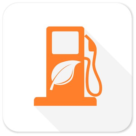 agro: biofuel flat icon Stock Photo