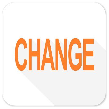 improving: change flat icon