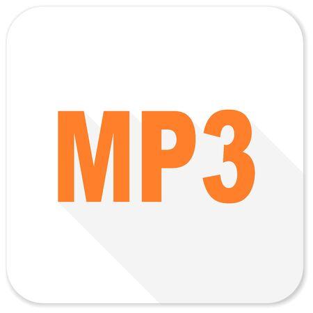 mp3: mp3 flat icon
