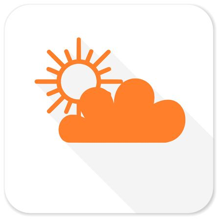 barometer: cloud flat icon