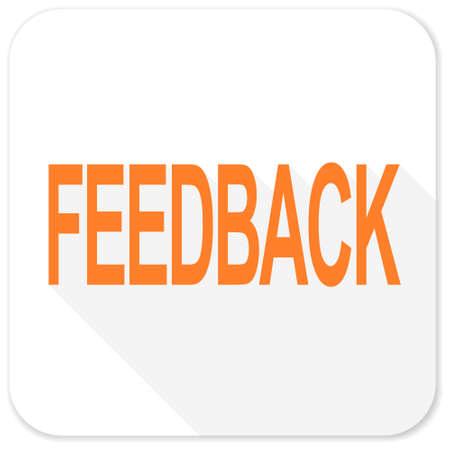 feedback: feedback flat icon
