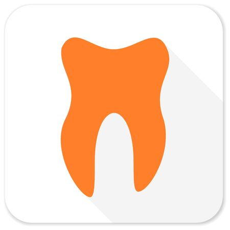 dent: tooth flat icon