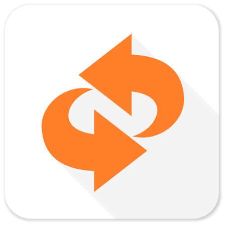 rotation: rotation flat icon