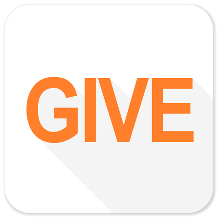 give: give flat icon
