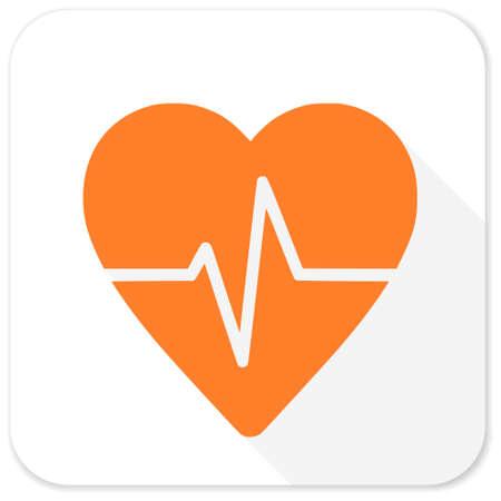 tętno: puls płaską ikonę