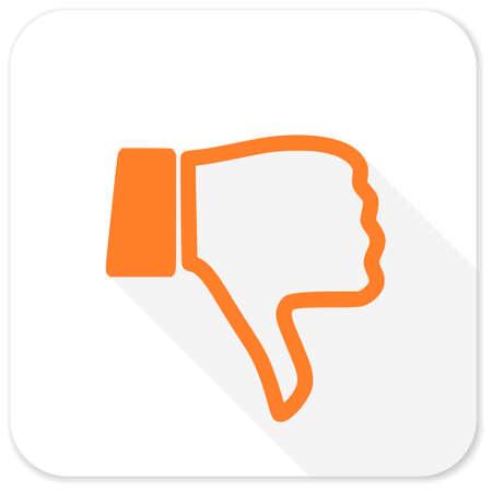 no gustar: dislike flat icon