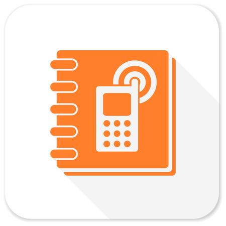 phonebook: phonebook flat icon