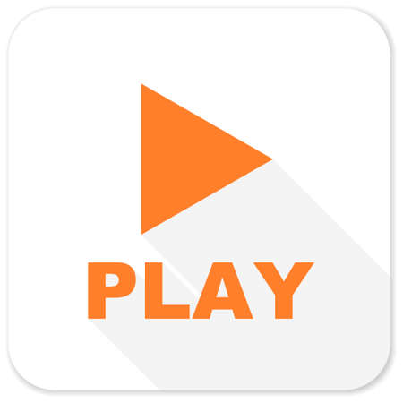 proceed: play flat icon