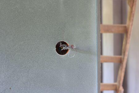 electric socket: electric socket Stock Photo
