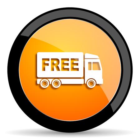 deliverance: free delivery orange icon