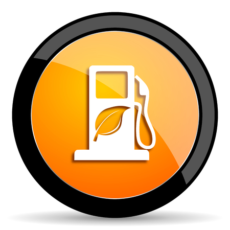 biofuel: biofuel orange icon