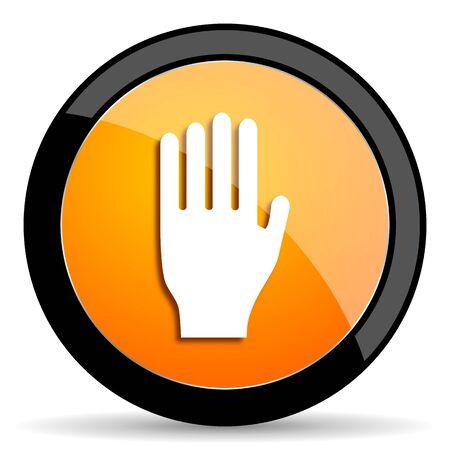 coachman: stop orange icon