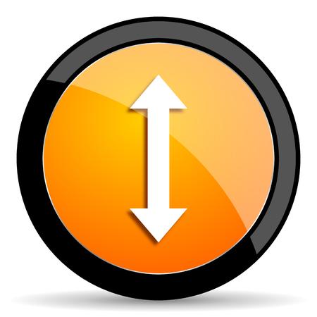 sterring: arrow orange icon