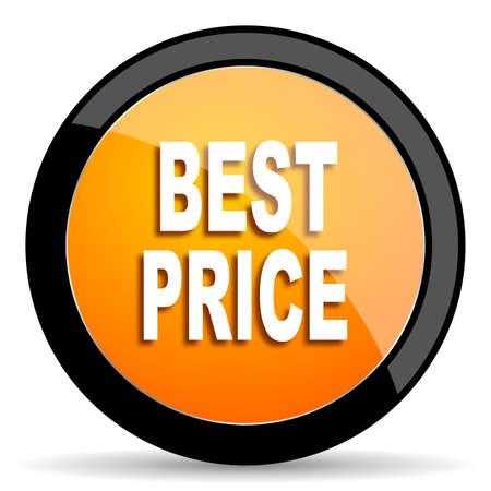 at best: best price orange icon