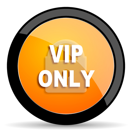 only: vip only orange icon
