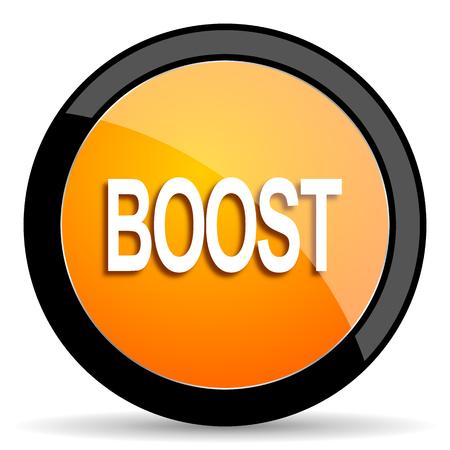boost: boost orange icon
