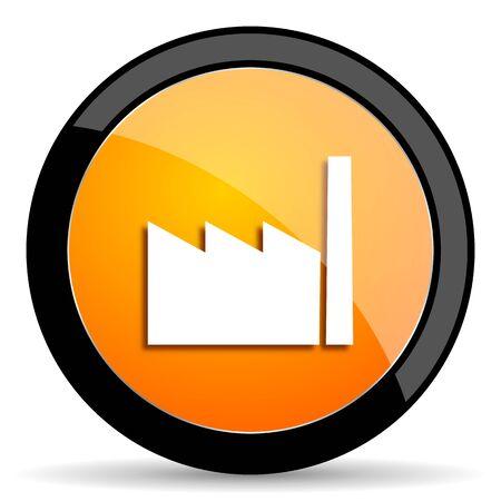 industrialist: factory orange icon