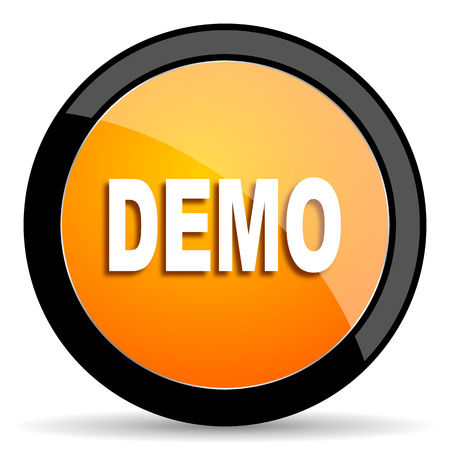 demo: demo orange icon