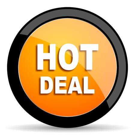 hot deal: hot deal orange icon