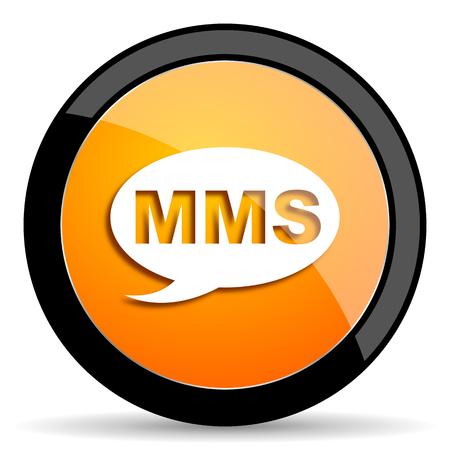 mms: mms orange icon