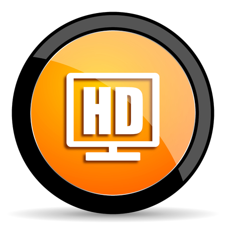 display: hd display orange icon