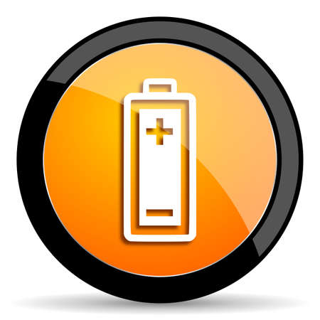 accuse: battery orange icon