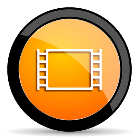 watch movement: movie orange icon