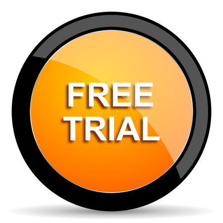 grant: free trial orange icon