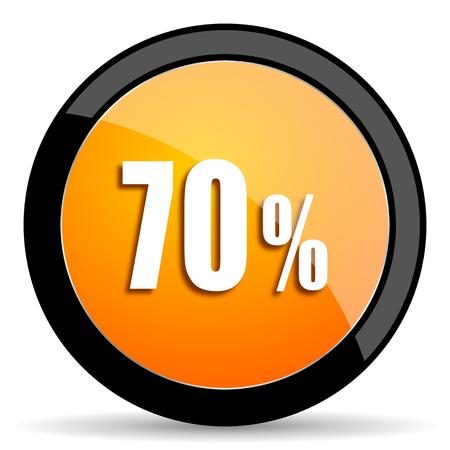 70: 70 percent orange icon