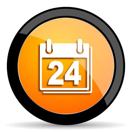 calendar icon: calendar orange icon