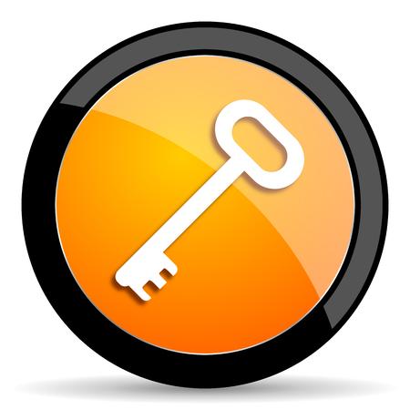 secret codes: key orange icon