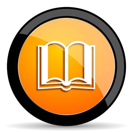 guestbook: book orange icon