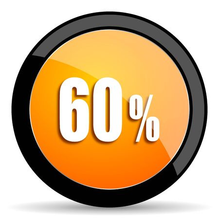 60: 60 percent orange icon
