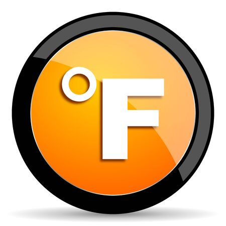 fahrenheit: fahrenheit orange icon