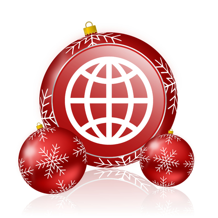parallel world: earth christmas icon
