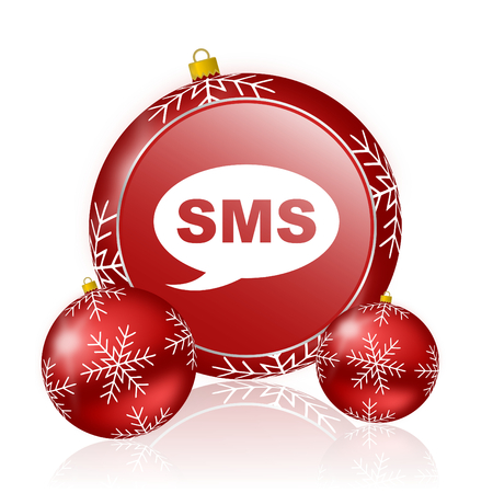 sms: sms christmas icon
